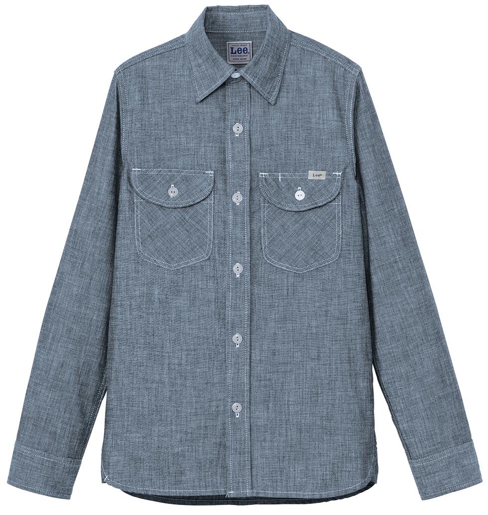 lee(リー)ブランドのレディース用かわいい長袖ワイシャツを通販。名入れok