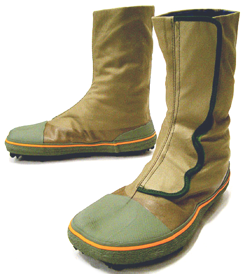 狩猟足袋、スパイク地下足袋を ...